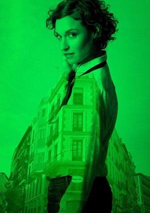 Inma Garzía es África, un personaje tan importante como tangencial En la ciudad de Tomás Canbané.