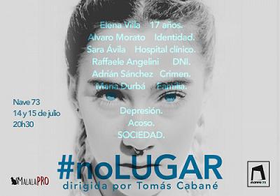 #noLUGAR, de Tomas Cabané