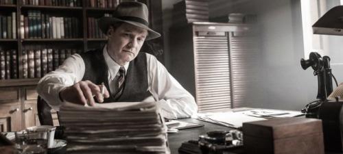 Colin Firth encarna a Max Perkins, uno de los más famosoo editores literarios de Estados Unidos en El editor de libros