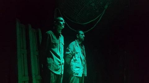 Marcelo Bazzano y Jorge Tesone los dos cancerveros del Infierno en Ventana al sur de Lau Firpo ©Alejandro Bazzano