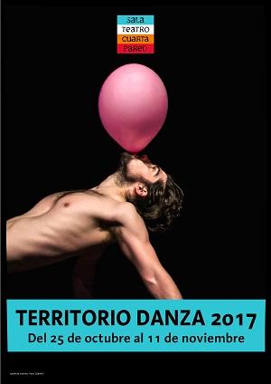 Cartel del 14ª Festival Territorio Danza 2017.