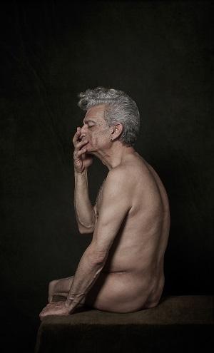 Paco Exposicoón La Piel sabia de Enrique Toribio. PHotoESPAÑA en Santana Art gallery