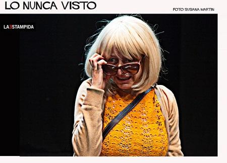 En la imagen Alicia Rodríguez, una actriz con personalidad propia que la hace ser única.
