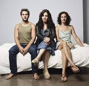 En la imagen Carlos Troya, Pilar G. Almansa María Morales. Un actor, una dramaturga y una actriz, tres ases para la función Cama