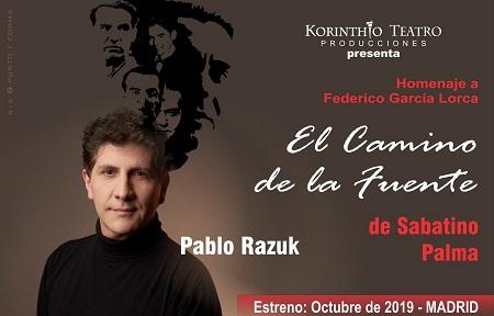 Un trabajo impecable Pablo Razuk en Homenaje a Federico García Lorca, de Sabatino Palma