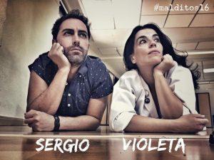 David Tortosa y Rocío Vidal, dos estupendos actores par Sergio y Violeta