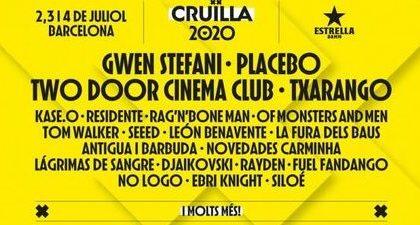 LOS FESTIVALES SON PARA EL VERANO: CRUILLA 2020