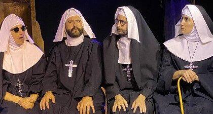 Santas y Perversas, un thriller cómico con monjas, de Jose Warletta