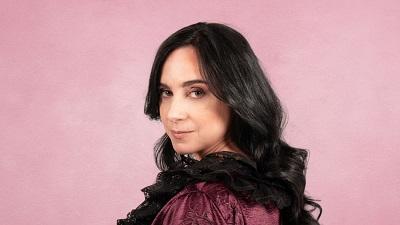 Denise Despeyroux es Paloma la actriz, enamorada de Andreas, su particular James Hepburn, en Ternura Negra.