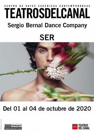 Cartel con el que se anuncia SER, el debut de Sergio Bernal, como coreógrafo.