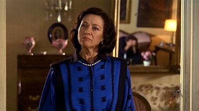 En 1985 Julieta Serrano fue Berta, una madre en Matador, en la imagen echándole una bronca a su hijo en la ficción Nacho Martínez