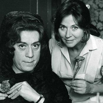 En la imagen Julieta Serrano con su Mi querida señorita: José Luis López Vázquez. La película de Jaime de Armiñan, se quedó a las puertas del Oscar de Hollywood.