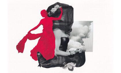 Peti Collage, expone 12 trabajos inspirados en Así que pasen cinco años, de García Lorca