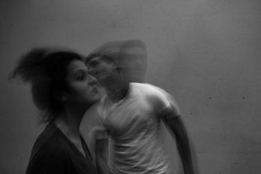 Cristina de Anta y Óscar Oliver dos actores para Mapa de heridas, escrita y dirigida por Sergio Martínez Vila ©Danilo Moroni.