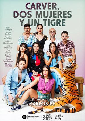 En el cartel Miguel Villellas, Sandra Ortiz, Albino Hernández, Javier Arribas, Ana Molinero, Inma Almagro, Ángela Corachán, Che Ojeda y Silvia San Román