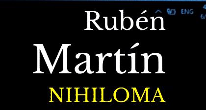 Nihiloma, de Rubén Martín