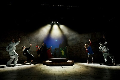 Castelvines y Monteses de Lope de Vega, recreada en delicioso musical por Sergio Peris-Mencheta ©Bárbara Sánchez Palomero