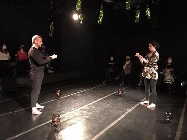 El actor David Aramburu y la actriz Cristina Canudas son Sebastian y Virginia en Fragil de Daniel Dimeco