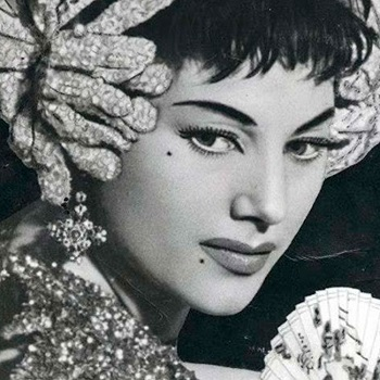 En la imagen la auténtica Manolita Chen, cuyo nombre completo era Manuela Fernández Pérez.