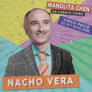 """En la imagen el actor Nacho Vega el señor Chen en """"Manolita Chen Un cuento chino"""", de José Troncoso Bentor Albelo"""