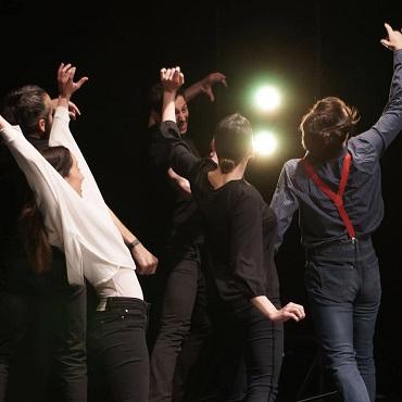 Abrahan Arenas, Andrés Acevedo, Raul Peñalva, Isa Dugo y Lourdes Downing