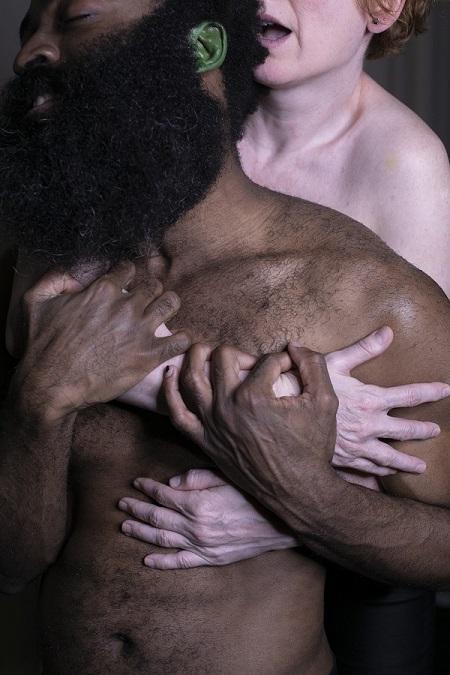 Chumo Mata es Othello y Mari Paz Sayago es Desdémona en Othello de Marta Pazos, a partir de William Shakespeare Foto Tamara de la Fuente