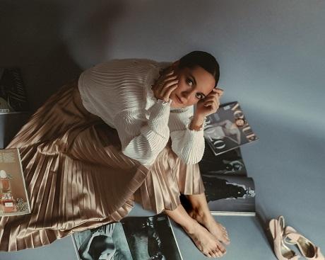 En la imagen la actriz Jenifer Rubio, que habla para Tarántula Cultura de su participación en la película Victoria 2030 Manuel Serrano.
