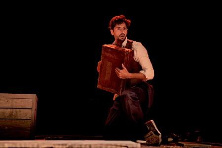 Juan Diego Botto, es autor e intérprete de Una Noche sin lunas, basada en textos de Federico García Lorca con dirección Sergio Peris-Mencheta ©marcosGpunto