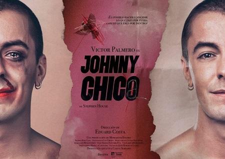 Cartel foto Romero de Luque, diseño gráfico de María la Cartelera para Johnny Chico de Stephen House, con Víctor Palmero, y dirección de Eduard Costa
