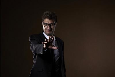 En la imagenJuanma Gómez, interprete y director de Thom Pain (basado en Nada), de Will Eno
